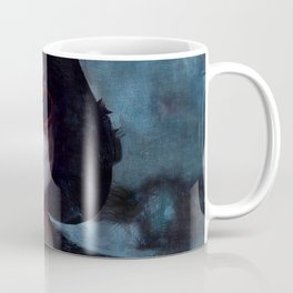 Marla Singer Smokes A Cigarette Behind Sunglasses - Fight Coffee Mug