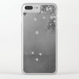 Behind the tears of sorrow lies the smile of memory. Clear iPhone Case