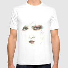 lucia Mens Fitted Tee MEDIUM White
