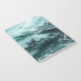 Water Photography | Sea | Ocean | Pattern | Abstract | Digital | Turquoise Notebook