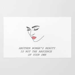 Another Woman's Beauty Rug