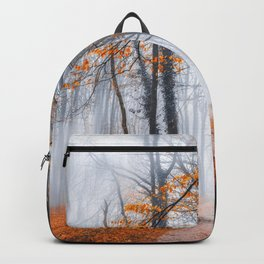 Misty road Backpack