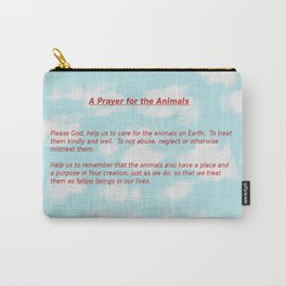 A Prayer for the Animals Carry-All Pouch