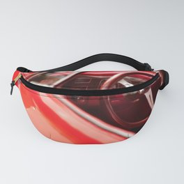 Red Ride Fanny Pack