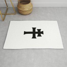 Cross of Lorraine Croix de Lorraine Rug