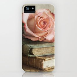 Smell of fresh rose iPhone Case