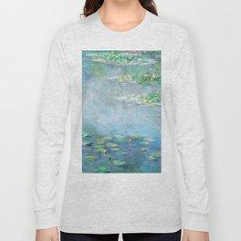 Monet Water Lilies / Nymphéas 1906 Long Sleeve T-shirt