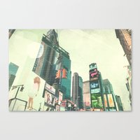 sex and the city Canvas Prints featuring Sex and the City by PIXERS
