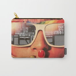 Retro Girl Carry-All Pouch