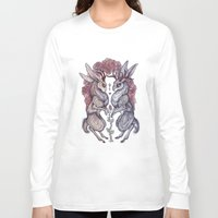 rare Long Sleeve T-shirts featuring Rare Hearts by Caitlin Hackett
