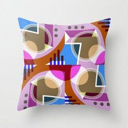 C13D GeoFlow Throw Pillow