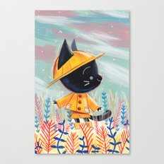 Raincoat 1 Canvas Print