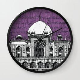 Humayun's Tomb (Tyrian) Wall Clock