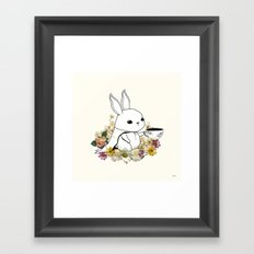 I Am Latte Framed Art Print