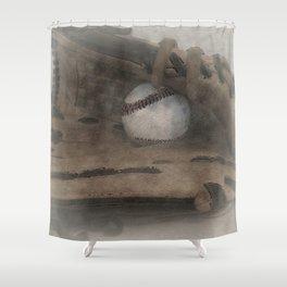 Baseball Dreams Shower Curtain