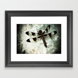 Rock of Habitation Framed Art Print