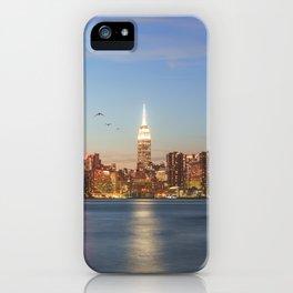 New York City Blues iPhone Case