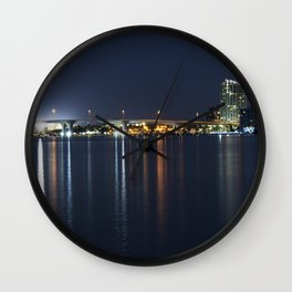 Clearwater Night Lights Wall Clock
