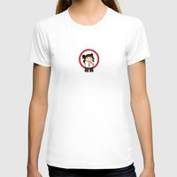 chuck T-shirts featuring Chuck by MythicPhoenix