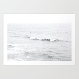 Surf, Ocean Beach, SF Art Print