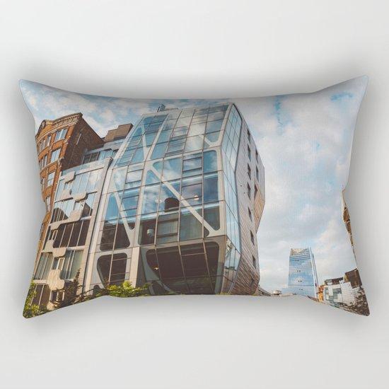 Highline View V Rectangular Pillow