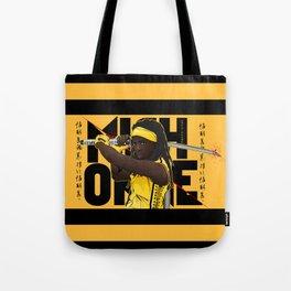 MICHONNE - THE WALKING DEAD MASHUP KILL BILL Tote Bag