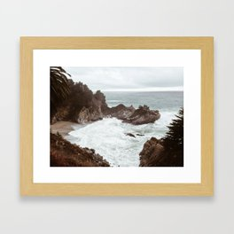 Stormy McWay Framed Art Print