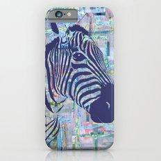 Zoe the Zebra iPhone 6s Slim Case