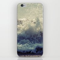 wave iPhone & iPod Skins featuring wave by Neon Wildlife