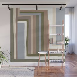 Abstract Neutrals III Wall Mural