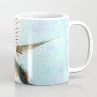 hummingbird Mugs featuring Hummingbird by Nichole B.