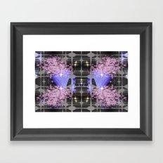 stars center Framed Art Print