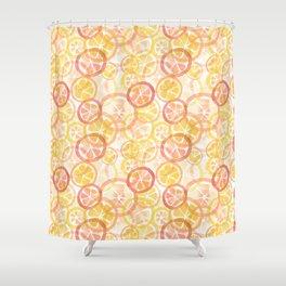Citrus_oy Shower Curtain