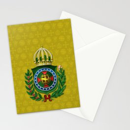 Dom Pedro II Coat of Arms Stationery Cards