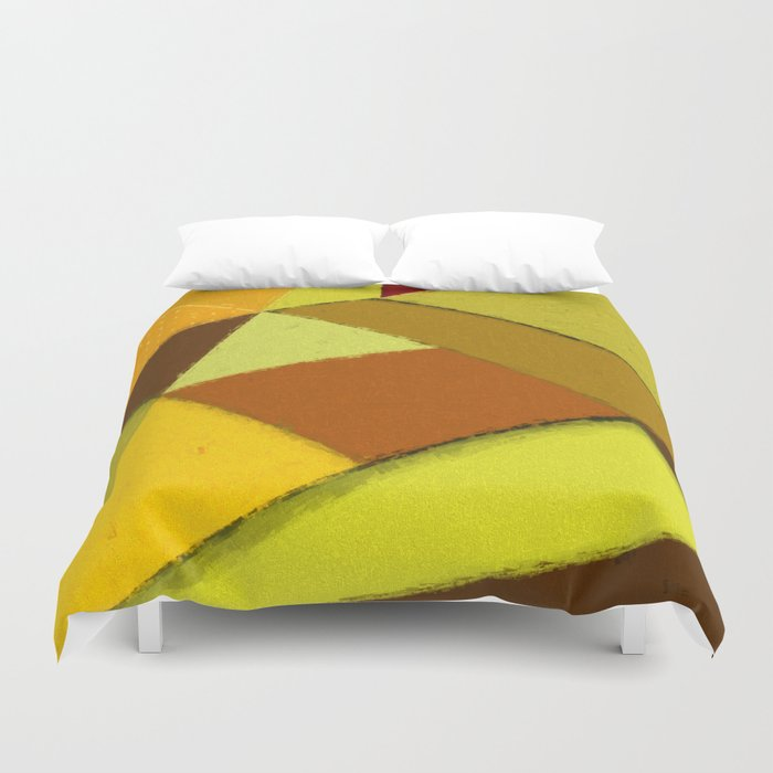 Abstract #377 Duvet Cover