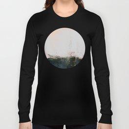 abstract smoke wall painting Long Sleeve T-shirt