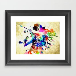 Woman of Wonder Framed Art Print