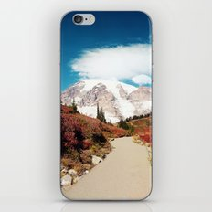 Mt Rainier in Autumn iPhone & iPod Skin
