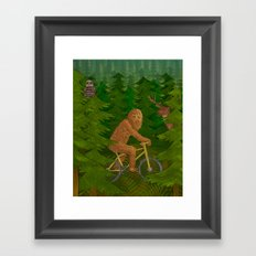 Wild Ride Framed Art Print