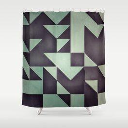:: geometric maze VIII :: Shower Curtain