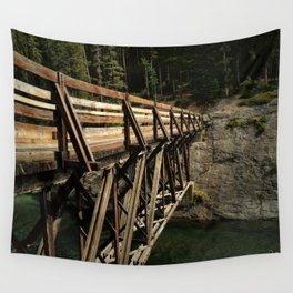 To Cross Again Wall Tapestry