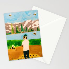 Tyler the Creator - Wolf x Flowerboy - Acrylic Painting Stationery Cards