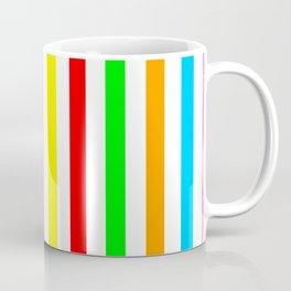 multicolor columns-mutlicolor,abstraction,abstract,fun,line,geometric,geometrical,columns, Coffee Mug