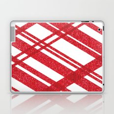 Red Stripe Laptop & iPad Skin