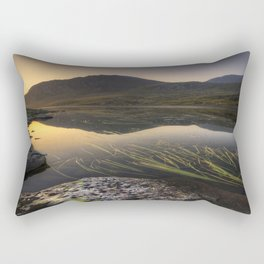Tryfan Mountians Rectangular Pillow
