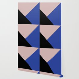 Getting Blocky Blue Wallpaper