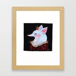 Fox King! Framed Art Print
