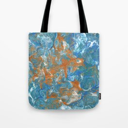 Golden Lacing Tote Bag