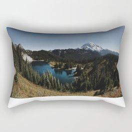 Tolmie Peak Rectangular Pillow