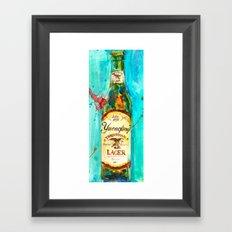 YUENGLING  BEER PA BEST Framed Art Print